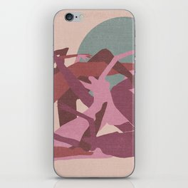 Witches in the Full Moon iPhone Skin