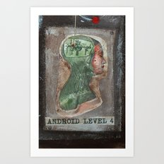 ANDROID LEVEL 4 Art Print