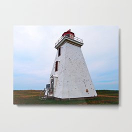 Lighthouse of Cape Egmont Metal Print