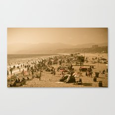 Santa Monica Summer Canvas Print