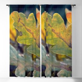 The Autumn Leaves Blackout Curtain