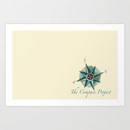 Compass Project Art Print