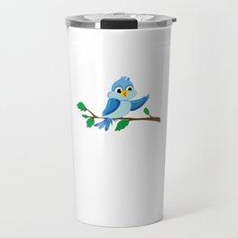 Funny Bird Finger Flipping Travel Mug