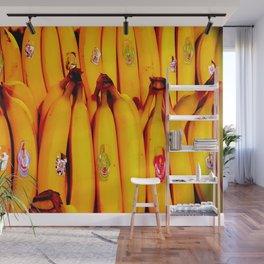 The Art of the Bananas Wall Mural