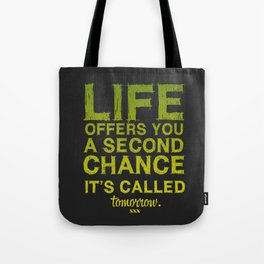 Second chance. Tote Bag