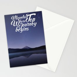 Mountain Top Journey Stationery Cards