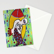 Pourquoi? Stationery Cards
