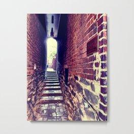 Back Alley Metal Print