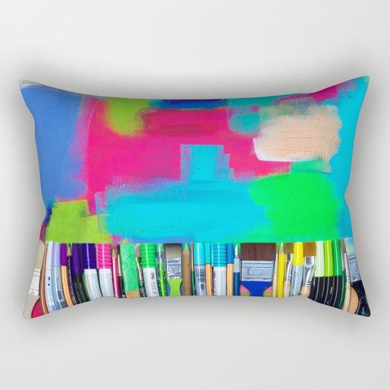Real Weapons Of Mass Creation Rectangular Pillow