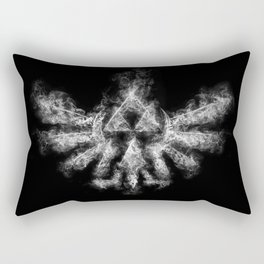 Triforce Smoke Rectangular Pillow
