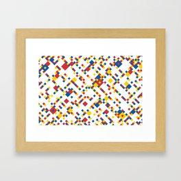BOOGIE w/white Framed Art Print