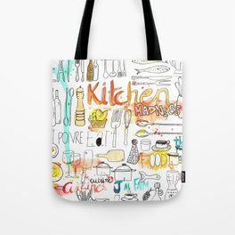Kitchen Madness Tote Bag