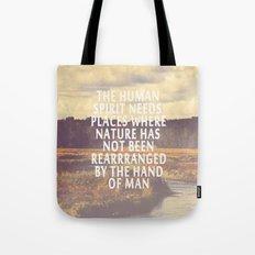 The Human Spirit Tote Bag