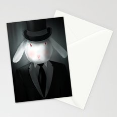 Good-Evening, Mr. Bunny Stationery Cards