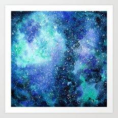 Mint space Art Print