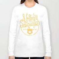 sasquatch Long Sleeve T-shirts featuring Urban Sasquatch Logo by Urban Sasquatch