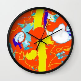 Holiday Excursion        by Kay Lipton Wall Clock