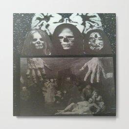 Neo Bedlam Dystopia Metal Print