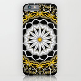 symmetry on black -05- iPhone Case