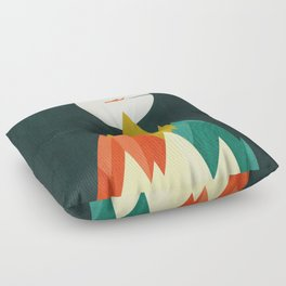 Life is a travel Floor Pillow