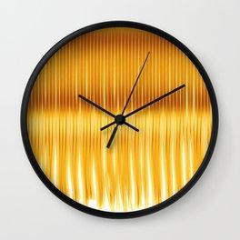 secret gold Wall Clock
