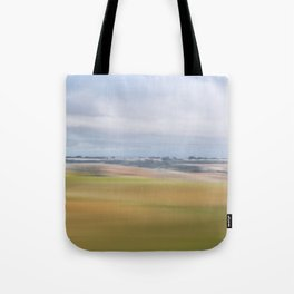 View from Train: Colours 2 Tote Bag