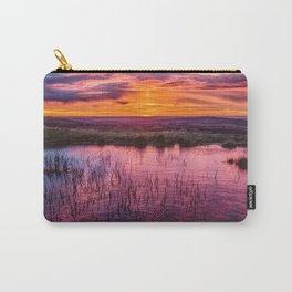 Silky Dawn - Australian Sunrise Carry-All Pouch
