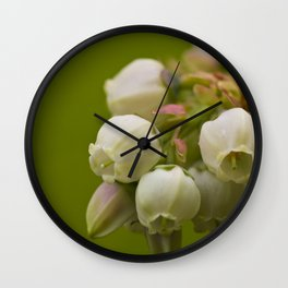 Sweet Blue Cluster Wall Clock