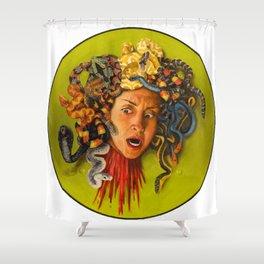 Her Rage Shower Curtain