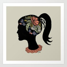 Thought Patterns Art Print