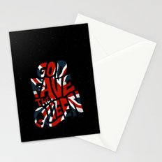 God Fave The Queen Stationery Cards