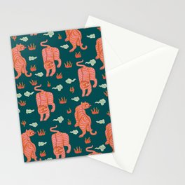 Bengal tigers Stationery Cards