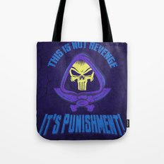 This Time It's Punishment Tote Bag