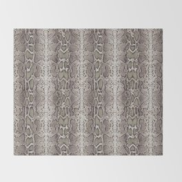 Snake Skin Throw Blanket
