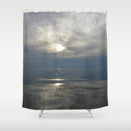 Morning in Cook's Harbour by Ida Shower Curtain
