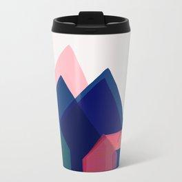 Houses abstract Travel Mug