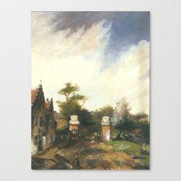 The Netherlands Landscape 2 Oil Painting Canvas Print