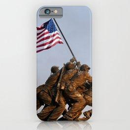 US Marine Corps Memorial iPhone Case