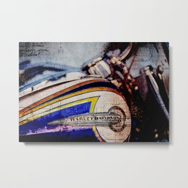 FLSTNSE CVO Softail Deluxe Metal Print