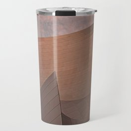 Architectural abstract of the home of the LA Philharmonic. Architect: Frank Gehry Travel Mug