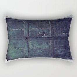 Santorini Door II Rectangular Pillow
