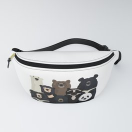 Bear family portrait Fanny Pack