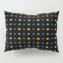 space aliens invaders stylish gamer art Pillow Sham