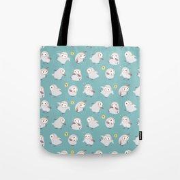 Baby Barn Owls Tote Bag