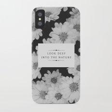 The Nature Slim Case iPhone X