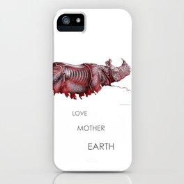 Brother Rhino iPhone Case