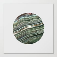 Gem Love Emerald Canvas Print
