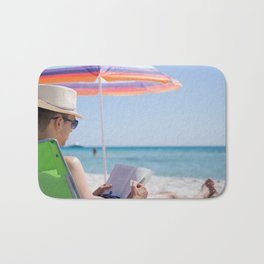 Il dolce far niente ~ the sweetness of doing nothing Bath Mat