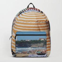 Biarritz Beach Tents Backpack