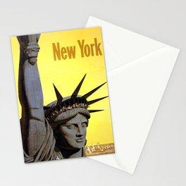 Advertisement New York municipal airports Stationery Cards